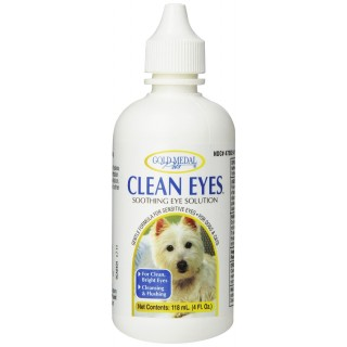 Gold Medal Pets Clean Eyes 118ml Pet Eye Solution