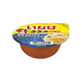 Inaba Dog Jelly Chicken with Cartilage 65g Dog Wet Food (TD13)
