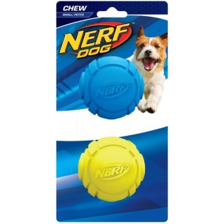 Nerf Dog Rubber Curve Ball Small 2.5 inches Dog Toy