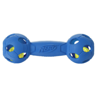 Nerf Dog LED Bash Barbell MEDIUM 7 inches Dog Toy