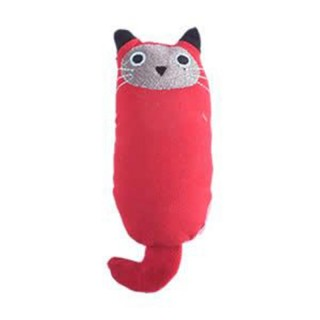 Amy Carol Fat Cat Series RED with Catnip Cat Toy