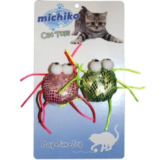Michiko SPIDER Cat Toy