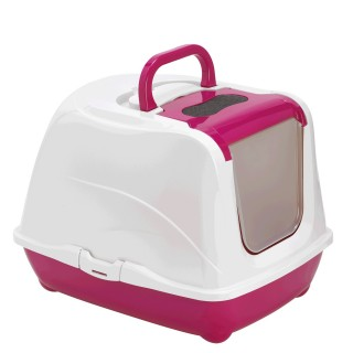 Moderna Flip Cat Jumbo 57CM Closed Litter Pan Box with Litter Scoop