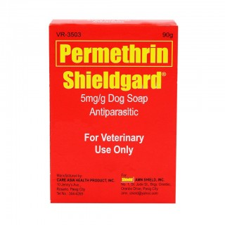 Shieldgard Antiparasitic 90g Dog Soap
