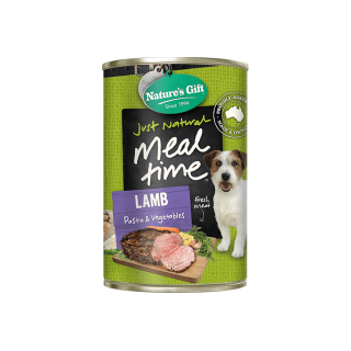 Nature's Gift Meal Time Lamb, Pasta & Vegetables 700g Dog Wet Food
