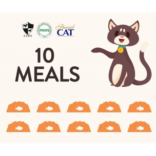DONATE 10 MEALS OF SPECIAL CAT DRY FOOD