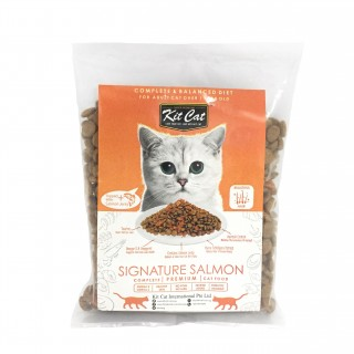 SAMPLE PACK - Kit Cat SIGNATURE SALMON 80g Cat Dry Food
