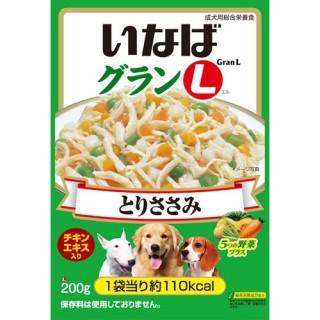 Inaba DOG Chicken with 5 Vegetables 200g Dog Wet Food GL05