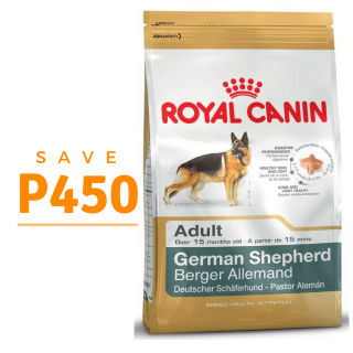 PROMO Royal Canin Adult German Shepherd 3kg Dog Dry Food