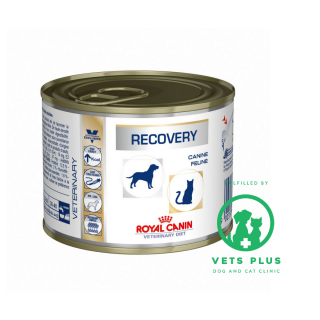 Royal Canin Canine Feline Veterinary Diet RECOVERY 195g Dog & Cat Wet Food