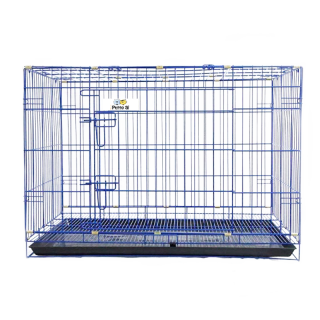 Petto Ai Collapsible Pet Cage - BLUE