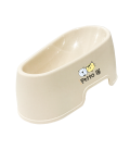 Petto Ai Plastic Pet Bowl - BEIGE