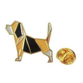 Stunners PH AsPin Beagle Enamel Pin