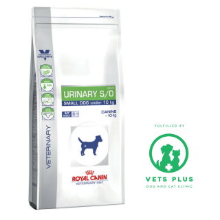 Royal Canin Canine Veterinary Diet URINARY S/O SMALL DOG 1.5kg Dog Dry Food