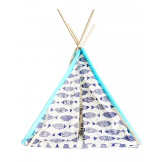 Pet Tent/Teepee - Fish Design