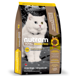Nutram TROUT & SALMON Grain Free Cat Dry Food