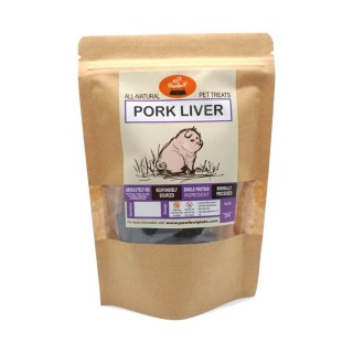 Pawfect Plate Bailey Bites - PORK LIVER 50g Dehydrated Pet Treats