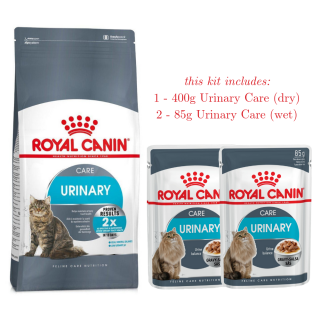 Royal Canin Feline URINARY Care Bundle