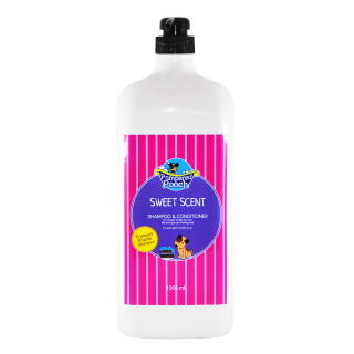 Pampered Pooch Sweet Scent 1000ml Pet Shampoo & Conditioner