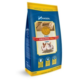 Hagen Original Plus RABBIT 2kg Food