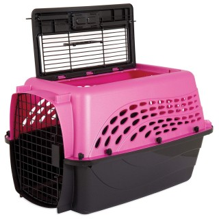 Jackson Galaxy 2 Door Top Load Kennel Pet Carrier - 24x16.8x14.5in