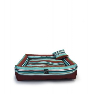Bow House Snorebox Aqua Pet Bed
