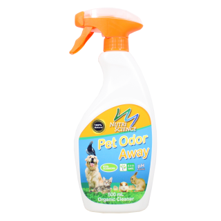 Nutriscience Pet Odor Away 500ml Organic Cleaner