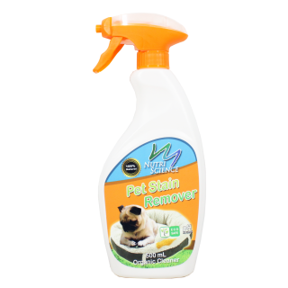 Nutriscience Pet Stain Remover 500ml Organic Cleaner