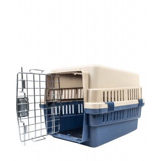 Double Door Pet Carrier - 19.69x13.39x12.60
