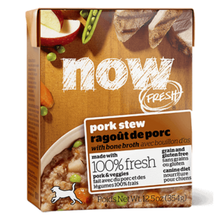 Now Fresh Grain Free Pork Stew with Bone Broth 354g Dog Wet Food/Toppers