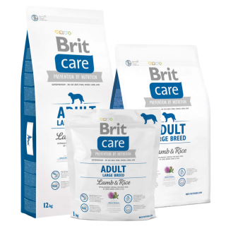 Brit Care Adult Medium Breed Lamb & Rice Dog Dry Food
