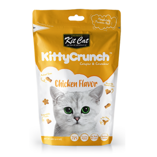 Kit Cat Kitty Crunch Chicken Flavor 60g Cat Treats